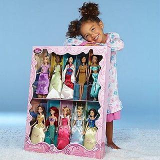 PRINCESS Doll COLLECTION 12 Set of 10 Snow White CINDERELLA Ariel