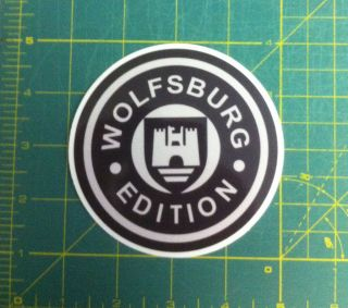 Wolfsburg Edition car truck Decals Sticker /Decal