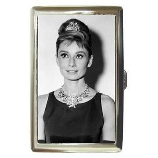 AUDREY HEPBURN BREAKFAST AT TIFFANYS 7 Cigarette Money Case ID Holder
