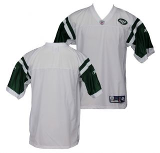 NFL New York Jets BLANK Reebok Premier Football Jerseys, White, Flawed