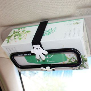 Mickey Mouse Auto Car Sun Visor Tissue Holder Frame 237