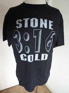 Vintage 1998 WWF Stone Cold Steve Austin 316 T Shirt 2 Sided NEW W