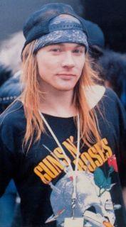 ROSES 1988 APPETITE FOR DESTRUCTION TOUR T SHIRT AXL ROSE CONCERT XL