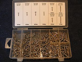 Exterior Stainless Steel Screw Kit, Restoration Auto,Truck, RV