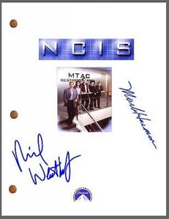 NCIS Signed PILOT TV Script by 2 *Mark Harmon & Michael Weatherly