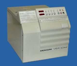 Midmark M9 UltraClave Autoclave Medical / Dental Sterilizer With Trays
