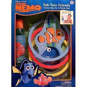 Finding Nemo Tub Toss Friends Childrens Tub Toy And Bubble Bath