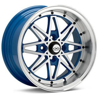 Acura Rims on 161139139 15 Og Axis Old Skool Style Blue Wheels Rims Fit Acura  Jpg