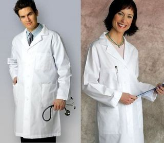 39 White Medical Nursing Doctor Lab Coat Jacket Uniform NWT 4 COLORS