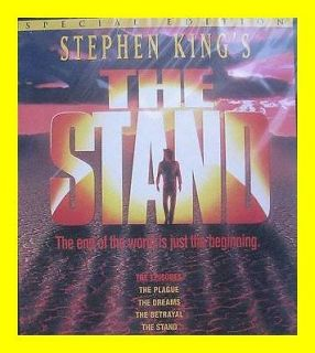 NEW The STAND Stephen Kings 2 DVD SET RARE MOVIE