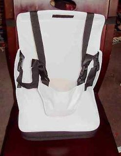 Baby Toddler High Chair Booster Seat Portable Foldup White