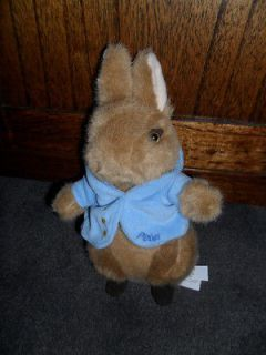 PETER RABBIT..gorgeous soft toy..original tagged item..Beatrix Potter