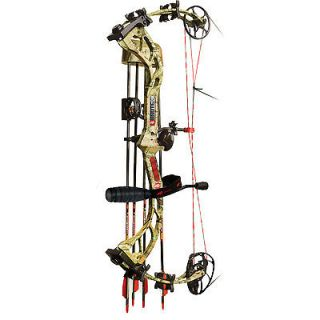 Newly listed PSE Brute X Compound Bow 25 30 Infinity Camo Field Ready