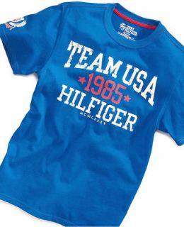 Tommy Hilfiger Team USA baby boy blue tee shirt sz. 6 NWT New