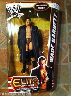 Mattel WWE Elite WADE BARRETT Figure Series 18 On hand 2012 lot Nexus