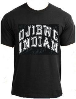 OJIBWE INDIAN Native American Indian powwow trading post clothing t