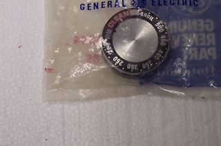 Vintage GE General Electric Oven Knob WB3X5544 New in Bag Never