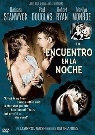 CLASH BY NIGHT DVD R2 BARBARA STANWYCK ROBERT RYAN MARILYN MONROE