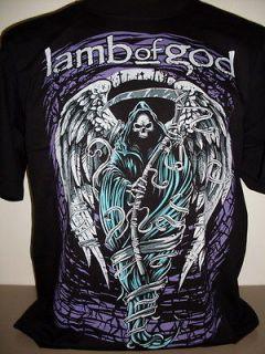 Lamb Of God Reaper T Shirt Size S   3 XL new Metal Band