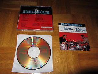 BUDDY RICH MAX ROACH Rich Versus ROACH 1986 JAPAN CD issue 32JD