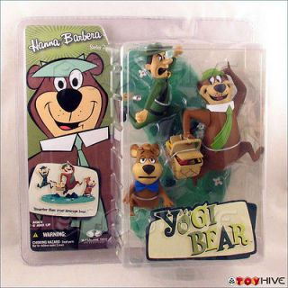 Hanna Barbera Yogi Bear Boo Boo Ranger cartoon figure McFarlane Toys