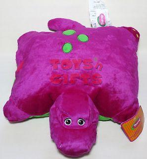 New Barney Stuffed Plush Doll Toy Pillow Cushion W/ Tag