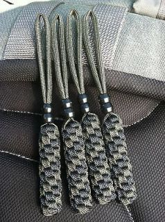 Newly listed (4) Paracord Knife Lanyards  FITS  Swamp Rat Knives   (4
