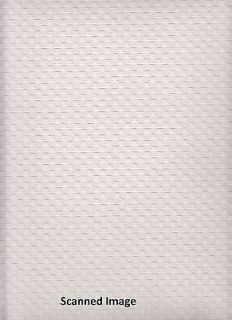 Paintable Wallpaper/ Basket Weave Paintable Sidewall / White