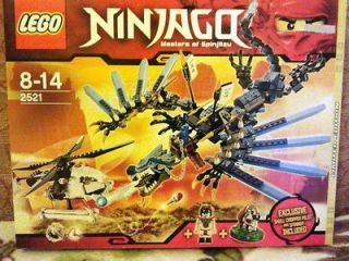 LEGO Ninjago Lightning Dragon,Limited Edition 2521 (no more in