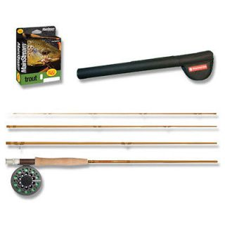 Redington NEW Pursuit 8 6 in 5 wt 4 pc Fly Rod & Reel Kit Fishing