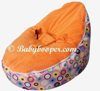 Babybooper Toddler Bean Bag Snuggle Bed Portable Seat Nursery Baby