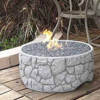 Revaire Portable Gas Fire Pit Firepit Complete Ready to Use Works LP