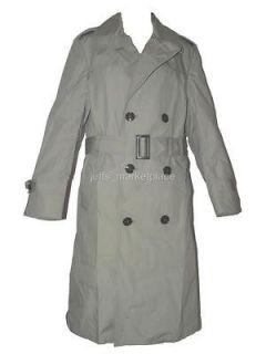 All Weather Double Breasted Trench Coat  34 Extra Long