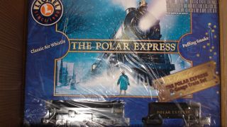 LIONEL O SCALE POLAR EXPRESS TRAIN SET #LNL 631960 NEW READY TO RUN