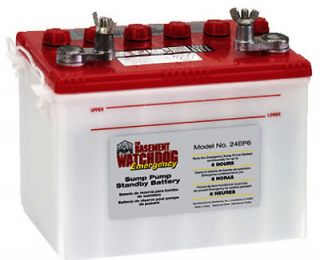 Basement Watchdog 6 Hour 140A Deep Cycle Sump Pump Emergency Battery