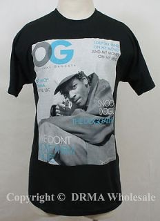 Authentic SNOOP DOG OG Original Gangsta Cover T Shirt S M L XL XXL NEW