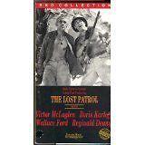 The Lost Patrol (1934) $1.99 VHS BORIS KARLOFF,VICTOR McLAGLEN,REGIN