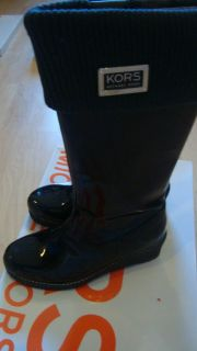NEW MICHAEL KORS BIG GIRL WINTER BOOTS BLACK SIZE 13 GREAT FOR