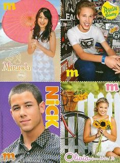 MIRANDA COSGROVE   RYAN BEATTY   NICK JONAS   OLIVIA HOLT   BELLA