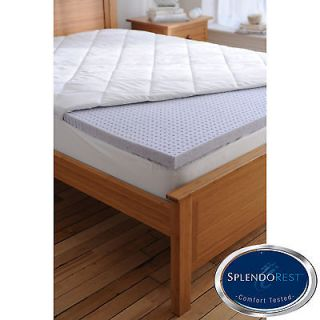 Splendorest TheraGel 2 inch Twin/ Full size Gel Memory Foam Mattress