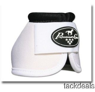 Professionals Choice White Large Ballistic Bell Overreach Boots Horse