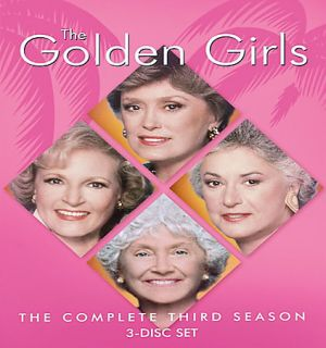 The Golden Girls   The Complete Third Season (DVD, 2005, 3 Disc Set)