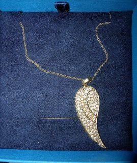 Bella Luce(R) 18k Rose Gold Over Sterling Silver Angel Wing Pendant