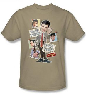 Mr. Bean Been There Adult Funny TV Show T Shirt Tee