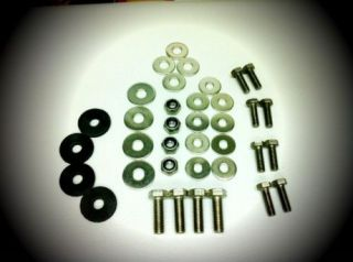 VW BEETLE BUG   Stainless Steel RUNNING BOARD Bolt Kit