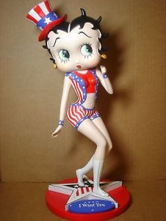 Betty Boop STATUE UNCLE SAM DESIGN 15 (RETIRED)