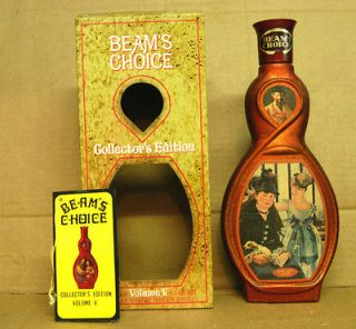 Beams Choice Renaissance Vol. V Manet whiskey decanter w/orig. box