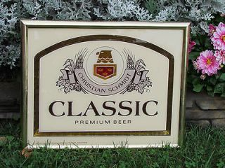 CHRISTIAN SCHMIDT CLASSIC PREMIUM BEER SIGN