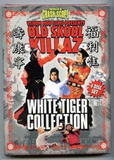 Old Skool Killaz   White Tiger Collection (4 DVDS) Iron Swallow, Seven