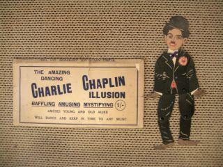 Cardboard Dancing Charlie Chaplin Illustration / UK